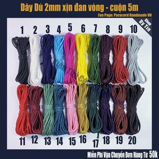 dây dù 2mm đan vòng tay – cuộn 5 mét