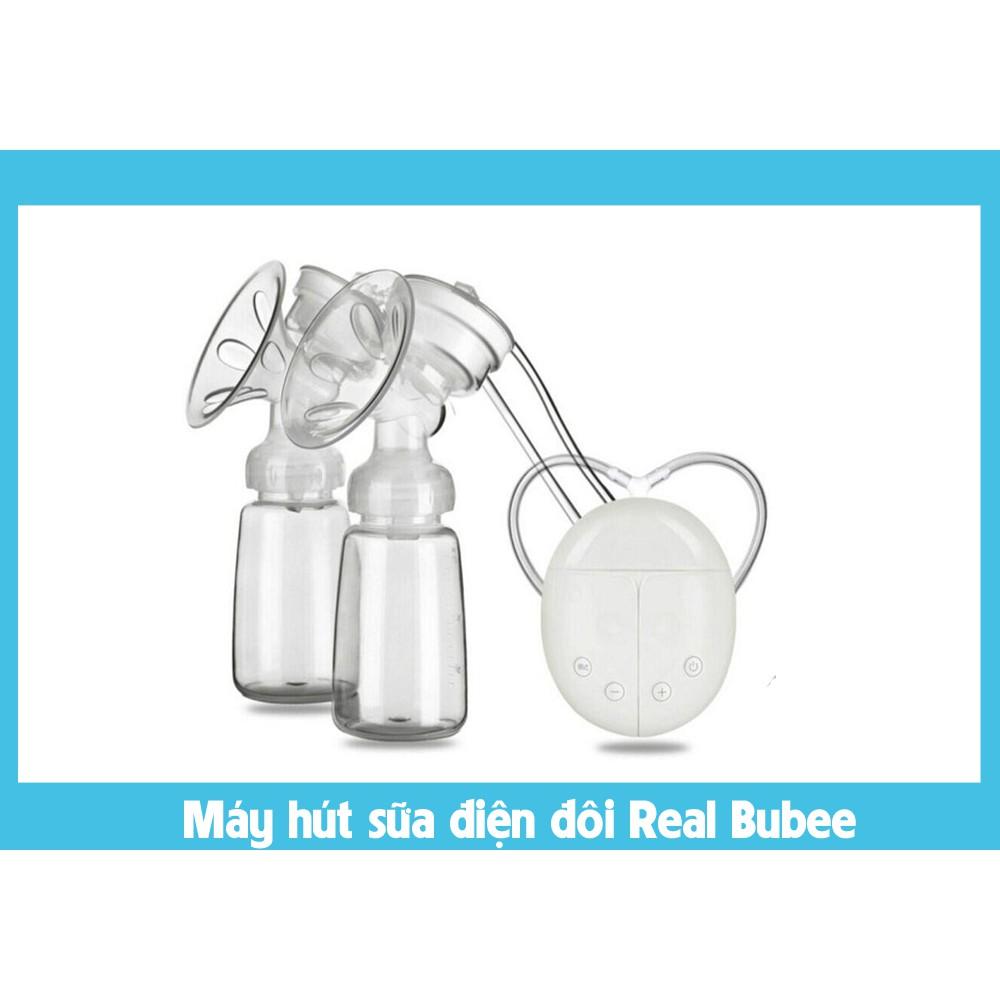 Máy hút sữa điện đôi Real Bubee - Có massa kích sữa - 3270815 , 1072152647 , 322_1072152647 , 450000 , May-hut-sua-dien-doi-Real-Bubee-Co-massa-kich-sua-322_1072152647 , shopee.vn , Máy hút sữa điện đôi Real Bubee - Có massa kích sữa