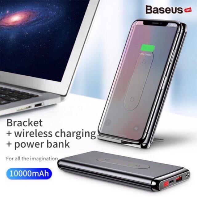 Pin dự phòng không dây hỗ trợ sạc nhanh chính hãng Baseus