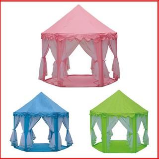 Lều ngủ công chúa dành cho bé yêu lều công chúa màu hồng