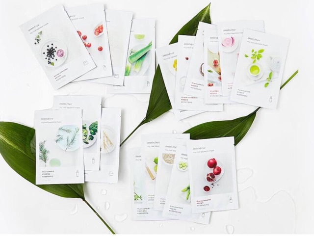 Mặt nạ Innisfree It's real squeeze mask MỚI