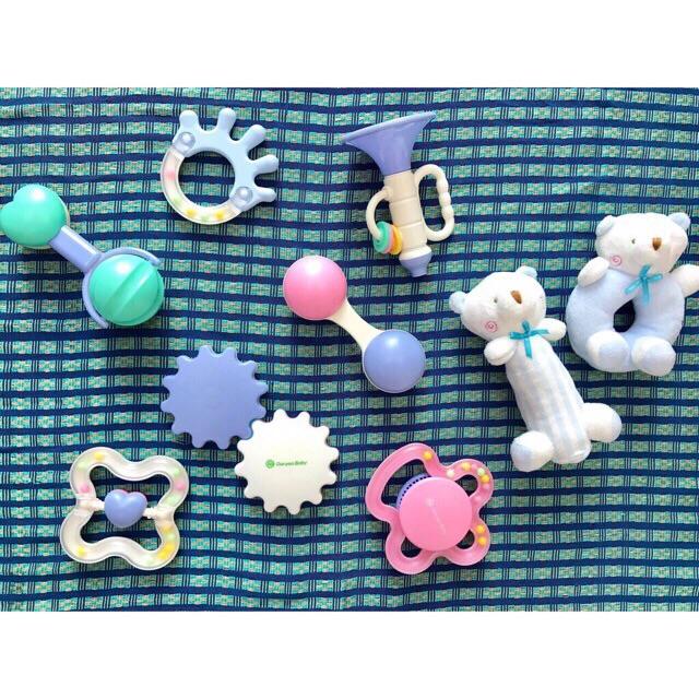 ( Sale sock) Set đồ chơi sơ sinh Goryeo Baby 9 món