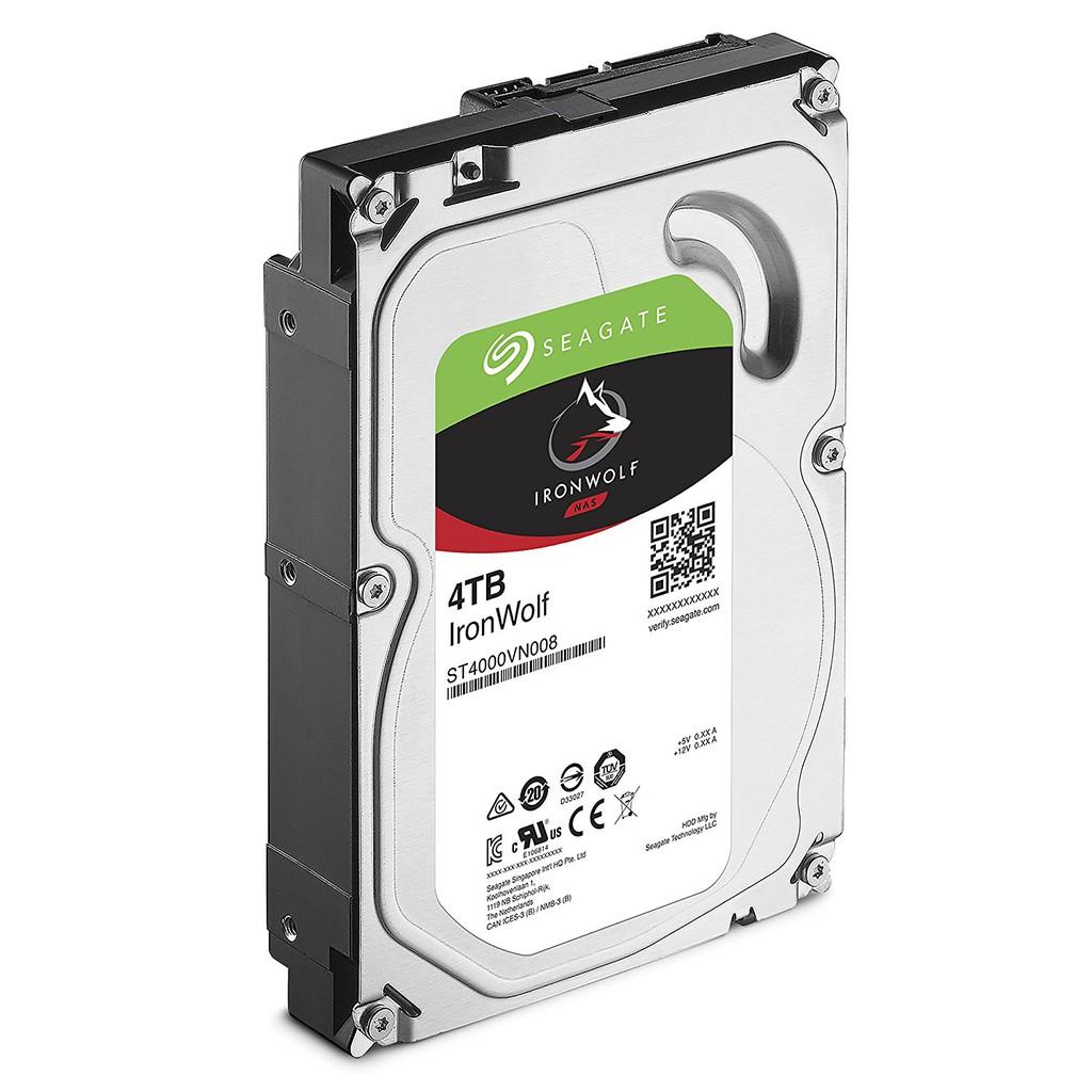 Ổ cứng 4TB Seagate IronWolf chuyên dụng cho Nas