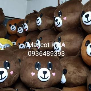 Quần áo hoá trang Mascot Gấu Brown – Chất lượng xuất khẩu số 1 thị trường