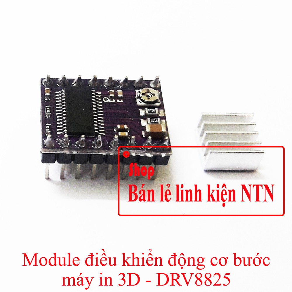 Module điều khiển động cơ bước máy in 3D DRV8825