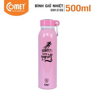 [Mã LIFECOMET05 giảm 10% tối đa 50K đơn 100K] Bình giữ nhiệt COMET CH12-55 (500ml)
