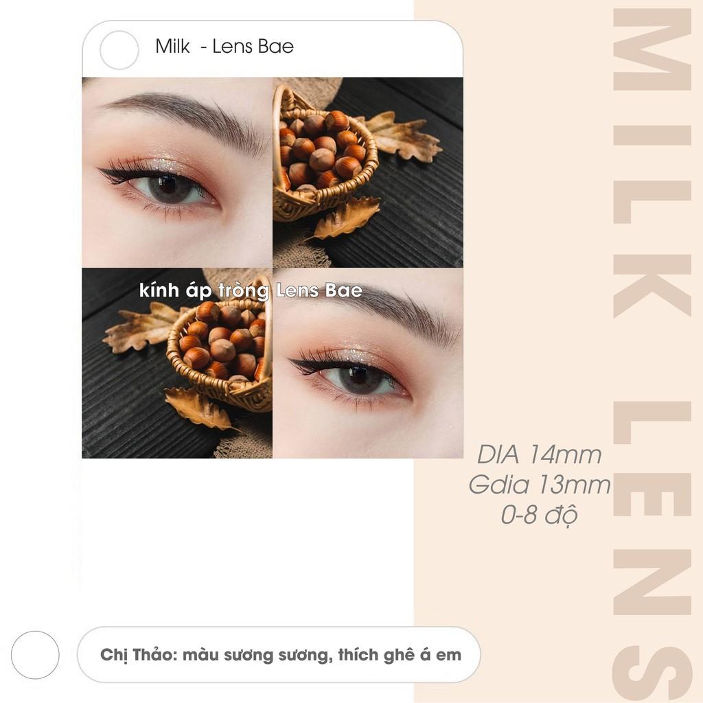 𝐌𝐢𝐥𝐤   Lens Thời trang   Kính áp tròng Hàn Quốc