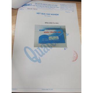 Khẩu trang y tế Ami eco mask 4 lớp kháng khuẩn (50 chiếc 1 hộp) 3