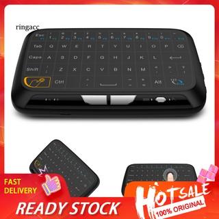 Bàn Phím Không Dây Mini Rachel-h18 2.4ghz Cho Pc Laptop Smart Android Tv thumbnail
