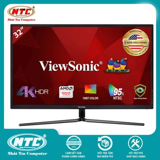 Màn Hình Gaming Viewsonic VX3211-4K-MHD 32 UltraHD 3ms 60Hz FreeSync VA HDMI DP (Đen) thumbnail