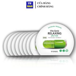Combo 10 Mặt nạ dưỡng ẩm BNBG Vita Genic Relaxing Jelly Mask (Vitamin B) 30ml x10
