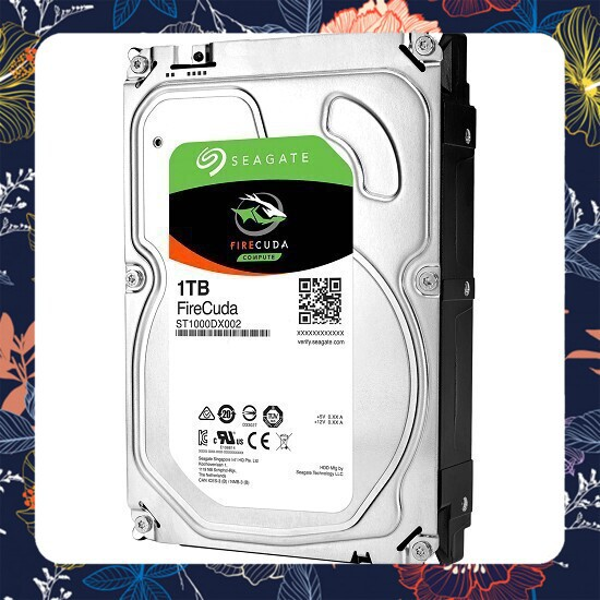 [Giá rẻ] Ổ Cứng HDD Seagate FireCuda 1TB/8GB/3.5 – ST1000DX002 Tiết kiệm điện năng Giá chỉ 2.456.250₫