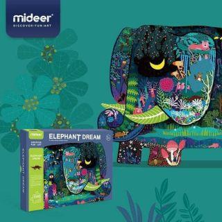 Xếp hình puzzle 280 miếng Mideer mới nhất ( Tặng file nghe Tiếng Anh cho bé)