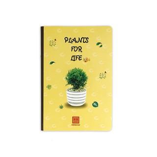 Hình ảnh [NEW] Vở kẻ ngang Hồng Hà Plants 200 trang (1417)-1