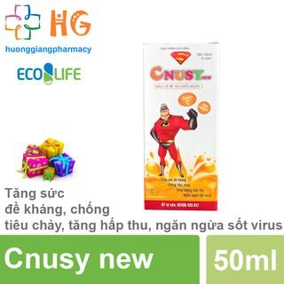 Cnusy New - Tăng sức đề kháng, chống tiêu chảy, tăng hấp thu, ngăn ngừa sốt virus (Chai 50ml) thumbnail
