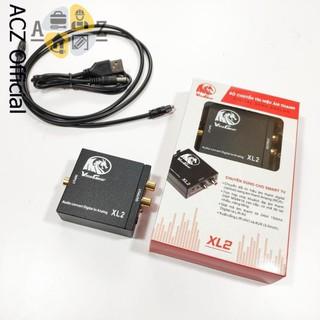 [Mã ELFLASH5 giảm 20K đơn 50K] Bộ chuyển đổi âm thanh quang học khuếch đại XL2 - BH 12 tháng