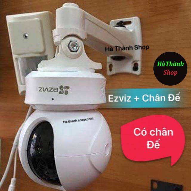 [Mã ELCA9 giảm 7% đơn 500K] Combo Camera Ezviz C6CN + Tặng Chân Đế Bắt Tường ( c6cn -cv246) có cổng Lan