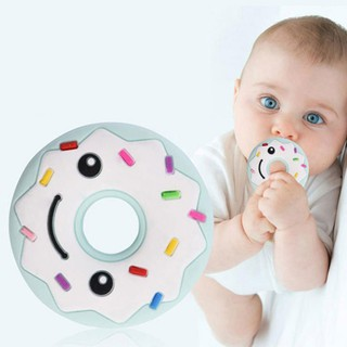 💐Baby Teether Donut-shaped Teeth Grinding Toy Pacifying Teether