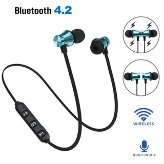Tai nghe nhét tai kết nối Bluetooth 4.2 không dây âm thanh sống động cao cấp
