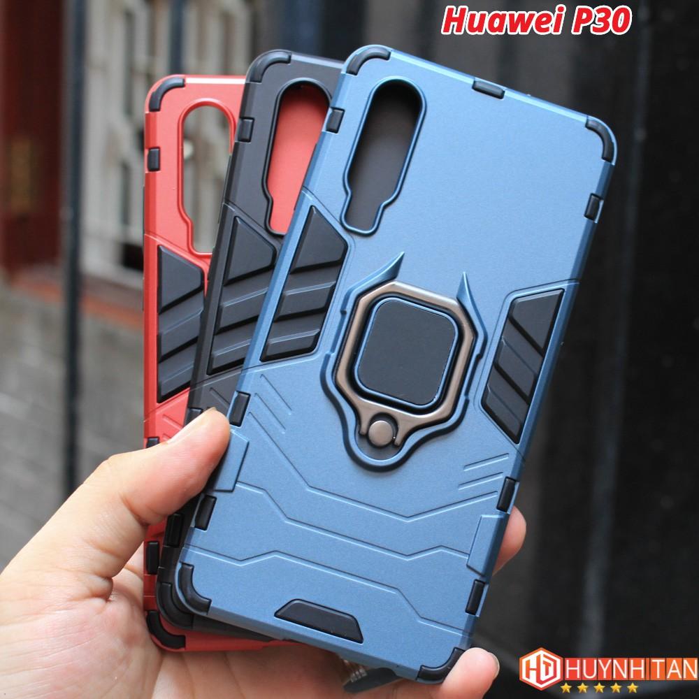 FREESHIP ĐƠN 99K_Ốp lưng Huawei P30  chống sốc Iron Man ver 2 có Iring (Full Màu)