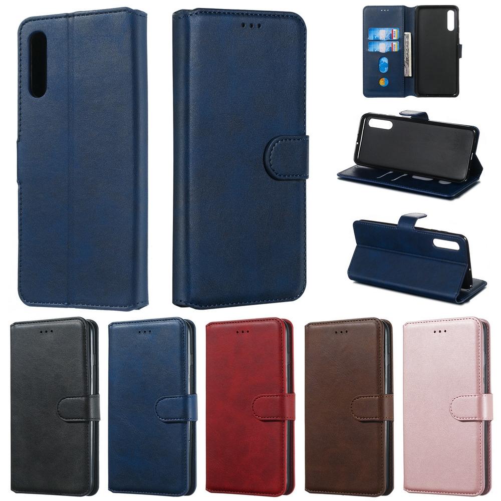Bao da điện thoại dạng ví nắp lật từ tính bảo vệ toàn diện cho Samsung A10s A20 A30 A50s A70 A80 M20 M30 A7 A6 A8 M20