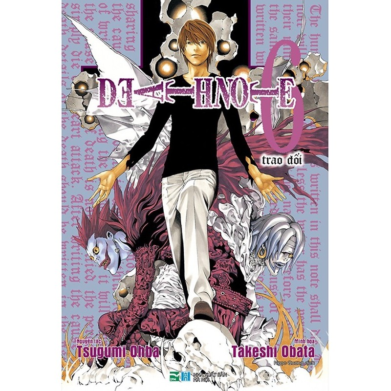 Death Note Tập 5,6,10(bản đặc biệt)