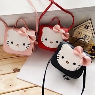 Túi xách đeo chéo hình mèo Kitty cho bé gái