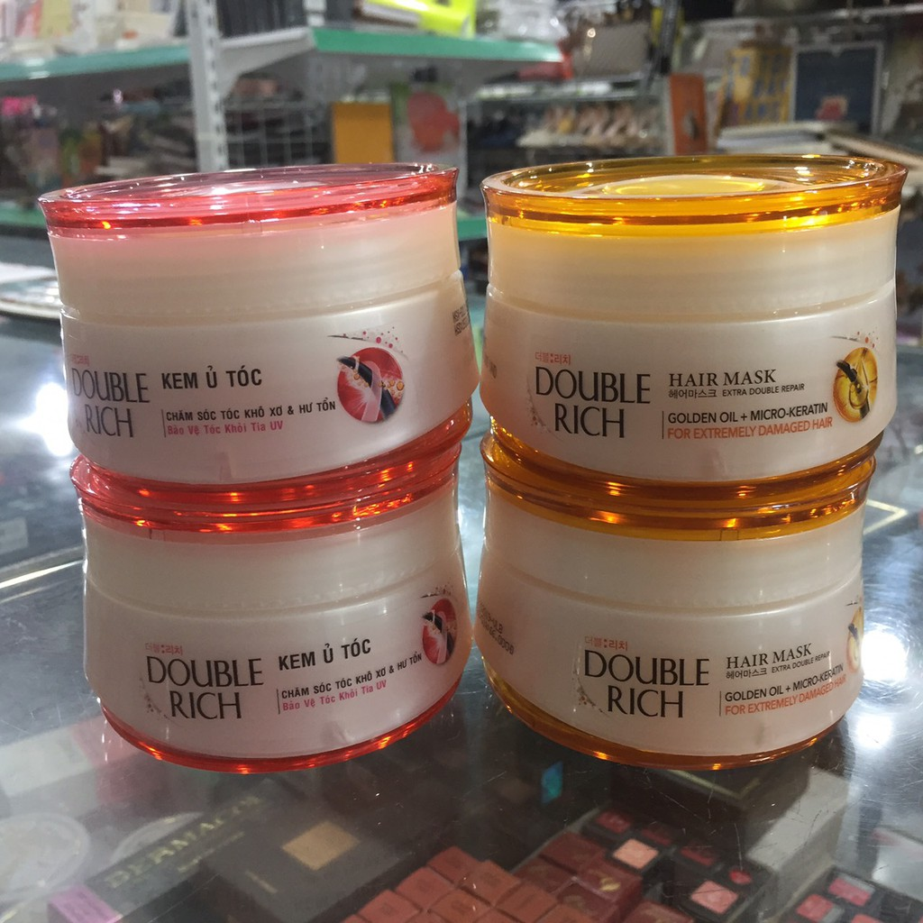 [chọn loại] Kem ủ tóc double rich 150g