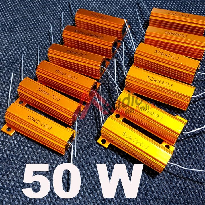 Điện trở nhôm 50w trị số từ 1 đến 50 ôm