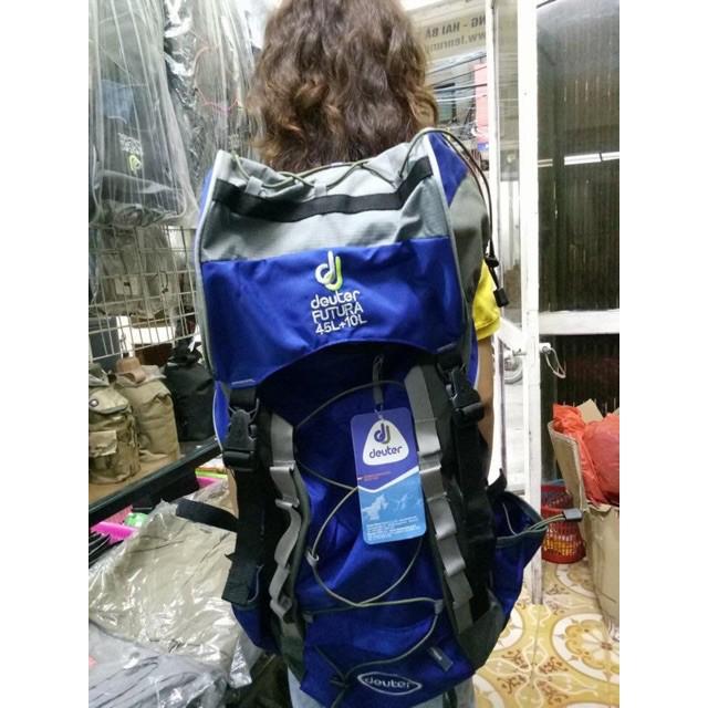[Giảm giá] Balo phượt Deuter Futura 45L +10 L, đi leo núi dã ngoại, hiking trecking and touring