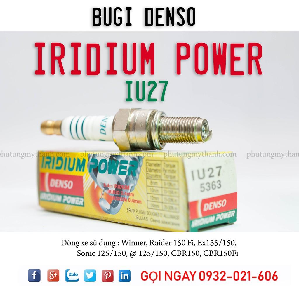 Denso Spark Plug Iridium Price - IU27