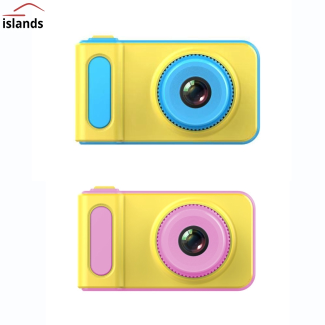 Mini Digital Camera Cartoon Game Photo Puzzle Toy for Kids