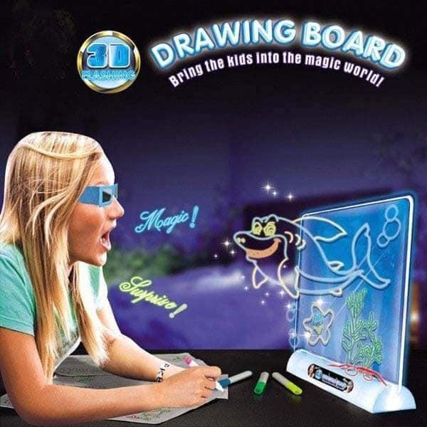 [Nhập mã TOYVUI giảm 20% tối đa 50K]Bảng tranh vẽ 3D. Đồ chơi thông minh.
