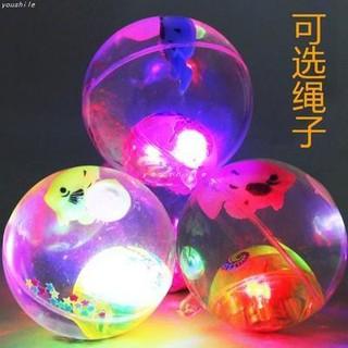 Quả cầu pha lê lấp lánh, quả bóng sáng, quả bóng đàn hồi, quả bóng nảy, đồ chơi