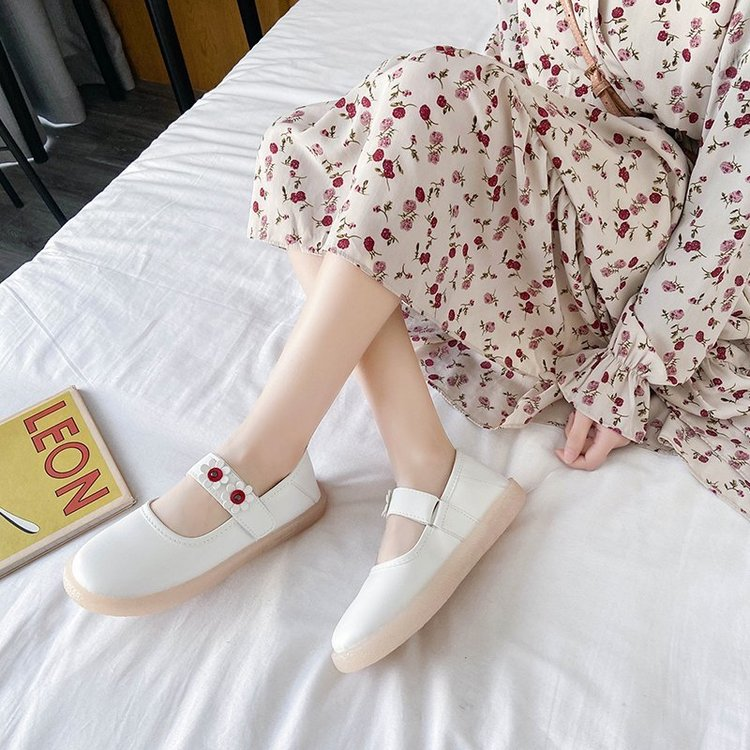 Giày Đế Thấp Mũi Tròn Cho Nữ