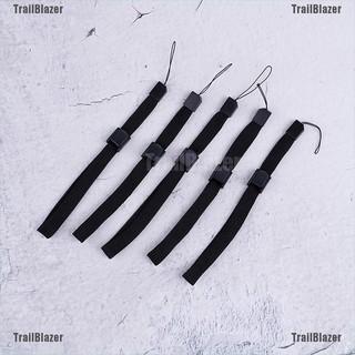 [TrailBlazer]5x Black wrist strap lanyard hand grip string for nintendo wii remote controller