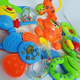 Thật Tuyệt Vời – Bộ đồ chơi xúc xắc 8 món cho bé- SMH112