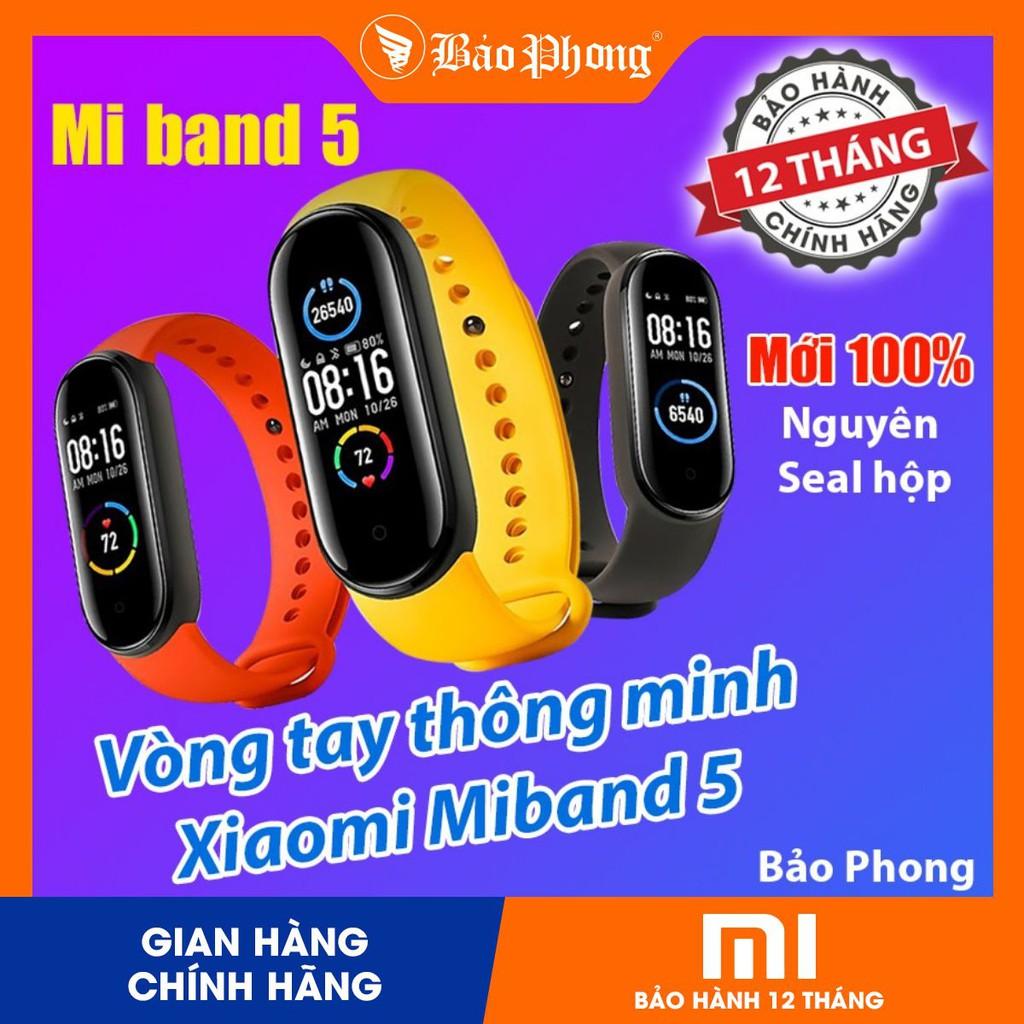 Đồng Hồ Xiaomi Mi Band 5 & Miband 4- Nguyên Seal Mới 100%- BH 1 năm - Hàng Chính Hãng