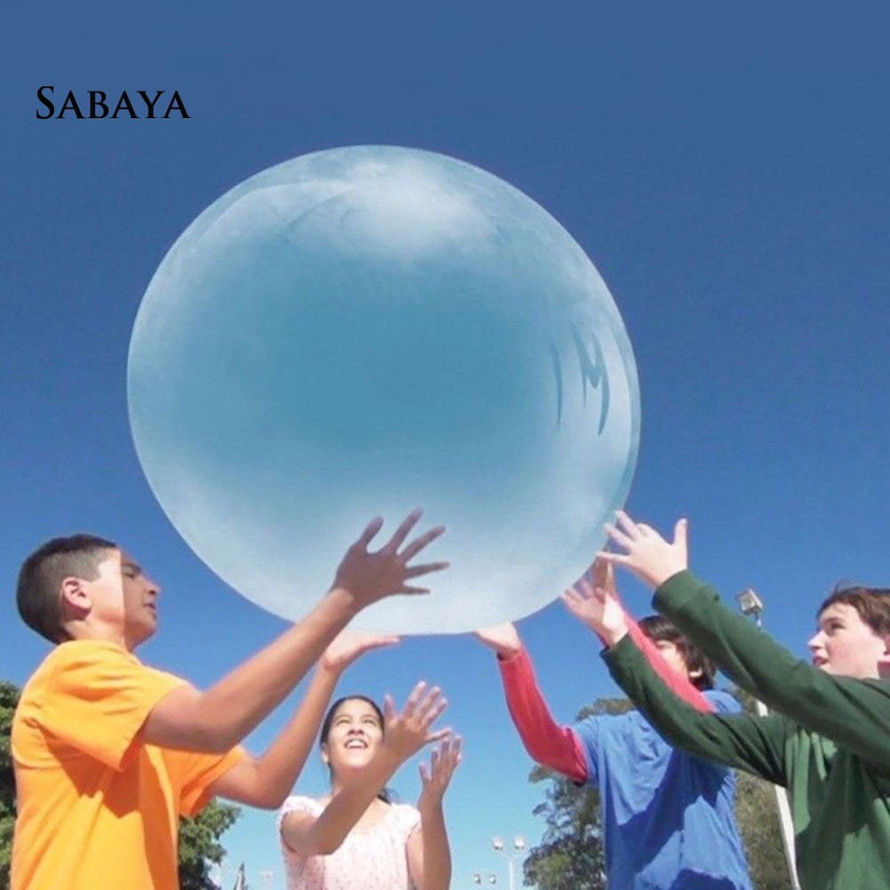 ✬✬✬Outdoor Bubble Ball Super Inflatable Children Adults Stress Reliever Play Toy