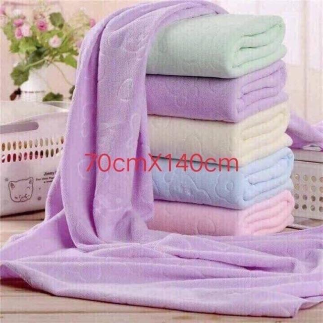 Khăn tắm xuất nhật ( sale còn 95k/ 5 cái)