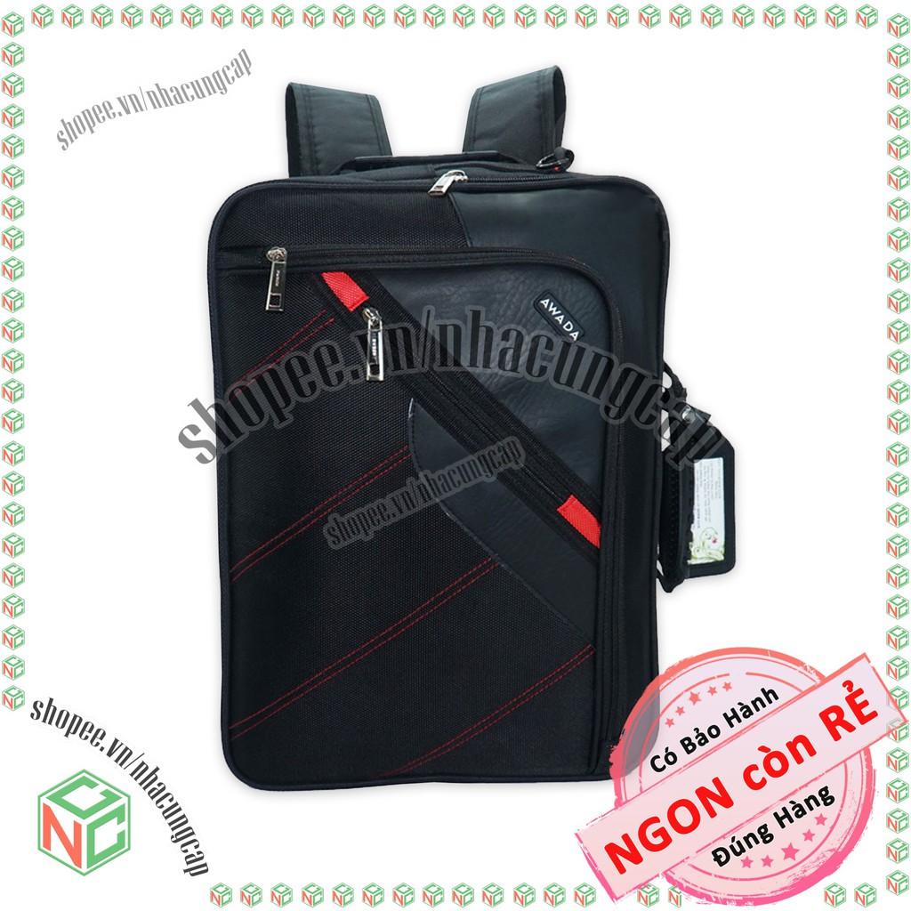 Cặp xách công sở đa năng (biến thành Balo) - có ngăn Laptop cho dân văn phòng đẹp giá rẻ - NKT-CDN-2148 (Đen)   SaleOff247