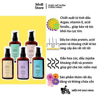 Dầu Dưỡng Tóc Raip R3 Argan Hair Oil 100ml làm mềm mịn tóc, hương thơm lôi cuốn, không chứa cồn - MnB Store