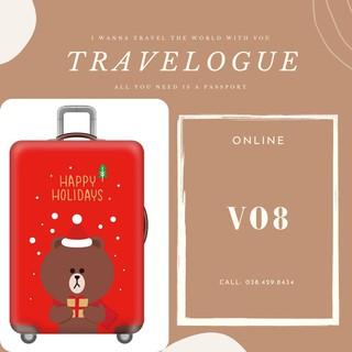 Vỏ bọc vali - Áo trùm vali - Bao vali chống trầy xước FREESHIP ORDER thumbnail