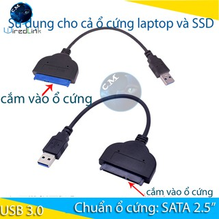 USB 3.0 SATA II Hard Drive Adapter Cable, SATA to USB Adapter Cable for 2.5 inch SSD & HDD