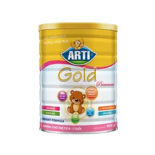 (Siêu rẻ) Sữa Arti Gold Premium Infant Formula 900G - NPP chính hãng