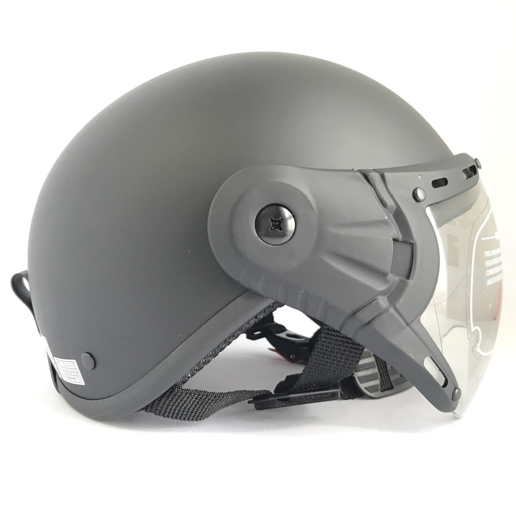 Mũ bảo hiểm nửa đầu có kính - Siêu đẹp - V&S Helmet - VS105K- (có nhiều mầu - tùy chọn)