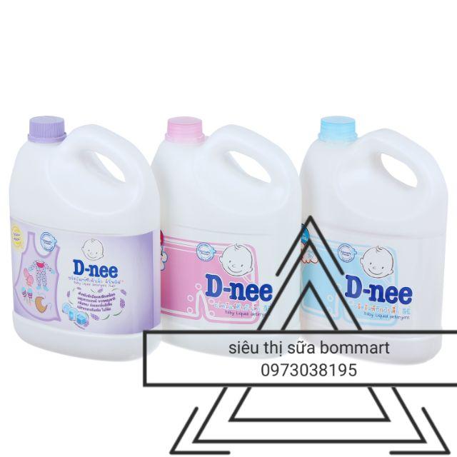 [ CHÍNH HÃNG] nước giặt xả DNEE 3000ML cho bé
