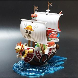 Mô hình Thuyền Thousand Sunny Mini Băng Mũ Rơm Luffy One Piece