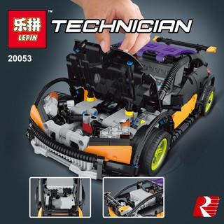 ( HÀNG CÓ SẴN ) LEGO Lepin Technic MOC Xe ô tô Hatchback điều khiển từ xa No.20053
