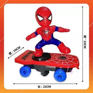[XẢ KHO GIÁ SỐC] Đồ chơi người nhện trượt ván cho bé – SIÊU BỀN